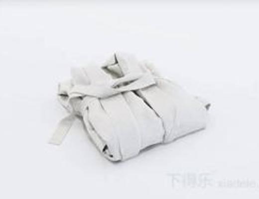 浴袍, 浴衣, 纯色毛巾, 毛巾, 毛巾架, 洗涤用品, 模型