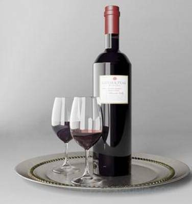 古典茶具, 酒杯, 高脚杯, 器皿, 餐具, 杯子, 玻璃杯, 模型