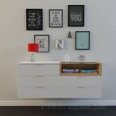 墙面装饰, loft风格, loft, 家居装饰, 陈列品, 模型