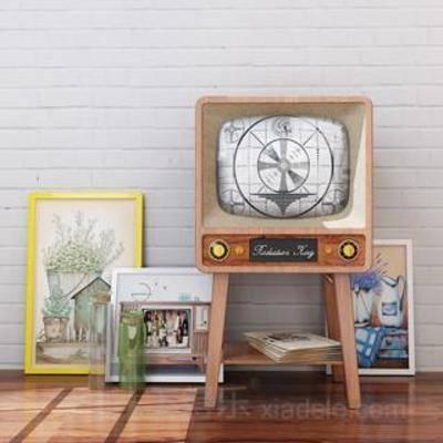 装饰画组合, 家居装饰, 摆件, 工艺品, 装饰品, 美式风格, 模型