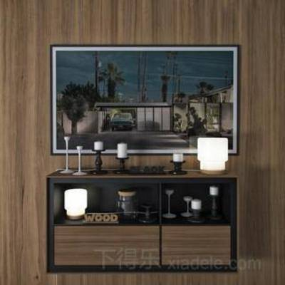 古典瓷瓶, 陶瓷工艺品, 瓷器, 烛台, 装饰品, 台灯, 模型, 欧式风格, 下得乐3888套模型合辑