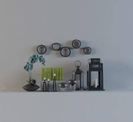 模型, 现代风格, 装饰品, 瓷器, 玻璃瓶, 陶瓷工艺品
