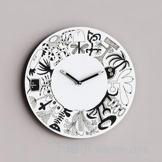 时钟 3d矢量图