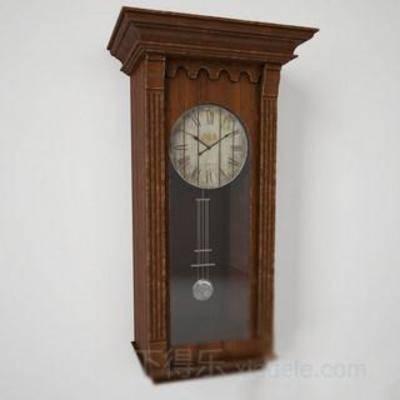 欧式风格, 装饰, 摆设, 工艺品, 吊钟, 时钟, 古典类型