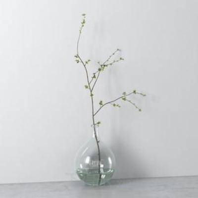 玻璃, 装饰, 花瓶, 透明, 瓶子