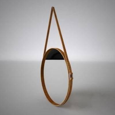 装饰镜, 壁挂, 镜子, 创意, 现代, 简约, 模型
