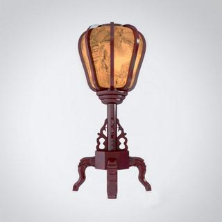 新中式古典实木 台灯