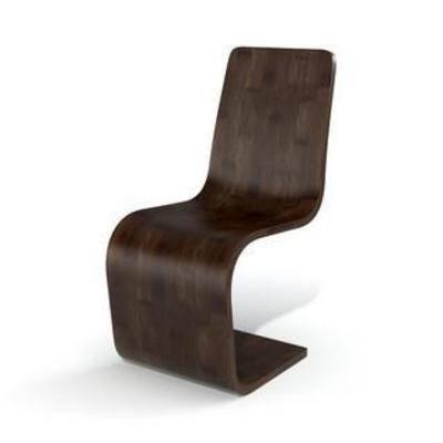 现代椅子, 创意, 现代, 简约, 模型, 椅子