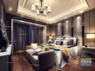 欧式风格,卧室设计,特训营,客厅,效果图,模型,学员作品