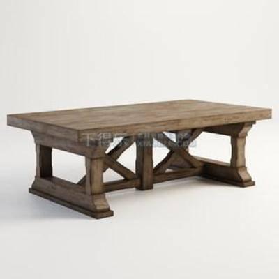 茶艺桌椅, 洽谈桌, 造型茶几, 北欧茶几, 茶几, 复古茶几, 实木茶几