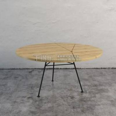三脚架餐桌, 折叠餐桌, 简易餐桌, 圆形桌, 现代简约, 现代餐桌, 简约餐桌, 餐桌