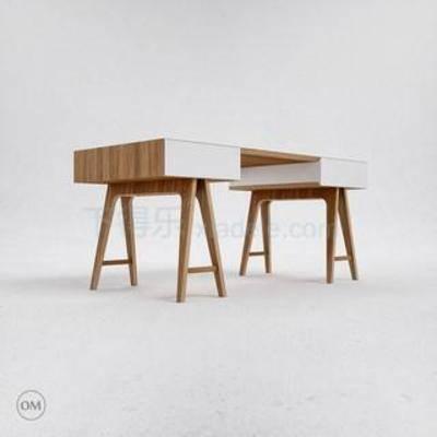 澳门威尼斯人游戏平台, 3dmax模型, 现代简约, 现代办公桌, 简约办公桌, 实木办公桌, 办公桌