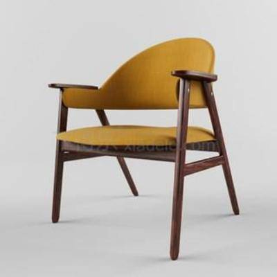 实木椅, 简约现代, 扶手椅, 现代椅子, 欧式风格