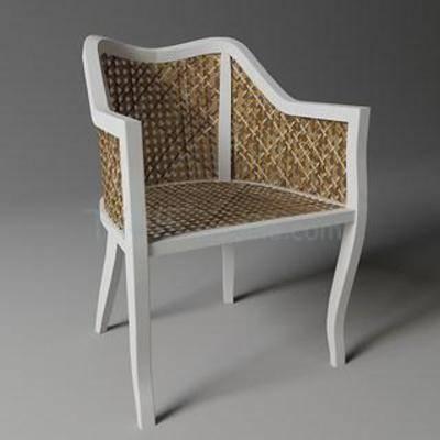 庭院桌椅, 单人椅, 现代椅子, 地中海田园风, 欧式风格