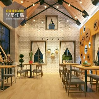 餐饮空间-黄慧婷毕业作品