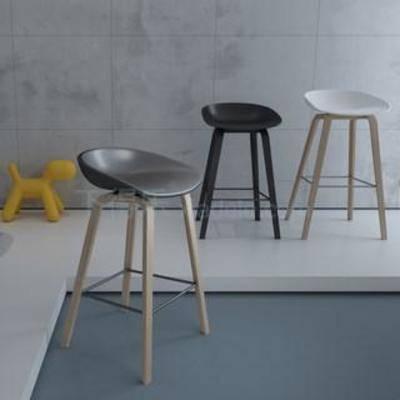 单人椅, 吧椅, 餐桌椅, 现代椅子, 美式, 工业风, 休闲椅
