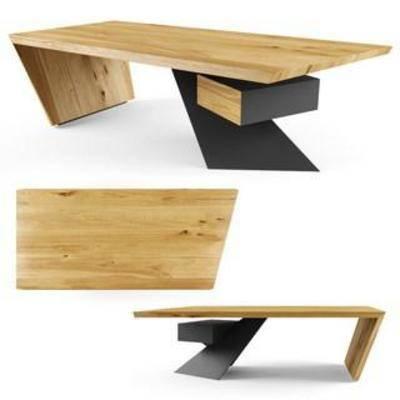 实木长凳, 实木桌, 实木茶几, 现代创意