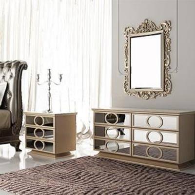 欧式风格, 装饰柜, 家居装饰, 欧式沙发椅, 欧式边柜, 欧式镜框