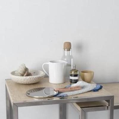 陈设品组合, 装饰组合, 北欧简约, 玻璃制品, 洗涤用品, 器皿, 瓷器, 摆件