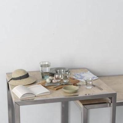 装饰组合, 北欧简约, 玻璃制品, 器皿, 餐具, 摆件, 陈列品