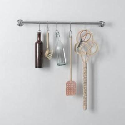 装饰组合, 北欧简约, 厨具工艺品, 厨房用具, 玻璃制品, 玻璃瓶, 装饰品