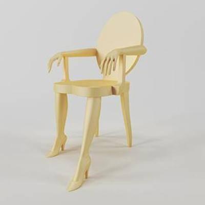 实木椅, 靠背, 单人椅, 扶手, 现代椅子, 现代简约