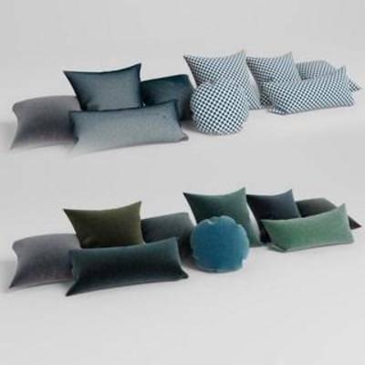 沙发抱枕, 布艺, 软包