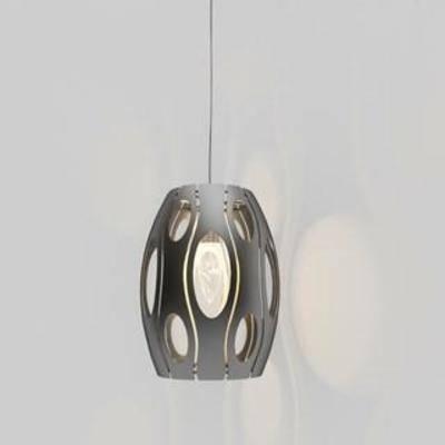 铁艺吊灯, 镂空, 装饰, 现代简约, 现代吊灯, 灯具