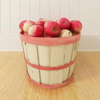 水果摆件, 苹果, 水果, 食物, 装饰品, 陈列品