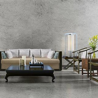新中式风格沙发茶几组合