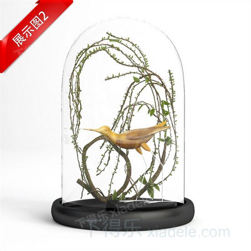 24套下得乐玻璃盅工艺品摆件模型合集,陈列品