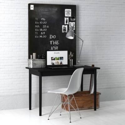 桌椅組合, 書桌椅組合, 工業風書桌組合, 工業風桌椅組合, 國外模型, 工業風, 下得樂3888套模型合輯