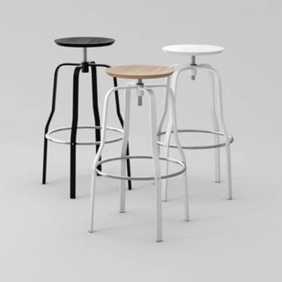 现代铁艺吧椅, 铁艺吧椅, 现代简约吧椅, 现代吧椅, 吧椅