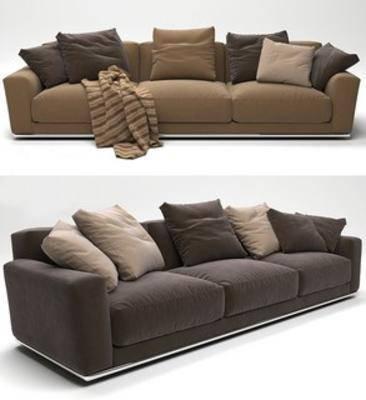 简约多人沙发, 布艺多人沙发, 北欧多人沙发, 北欧简约, 北欧沙发, 多人沙发