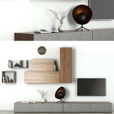 装饰品, 北欧电视柜, 北欧简约, 装饰品组合, 北欧装饰品, 下得乐3888套模型合辑