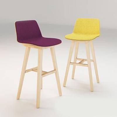 简约吧椅, 北欧吧椅, 北欧简约, 吧椅, 现代椅子