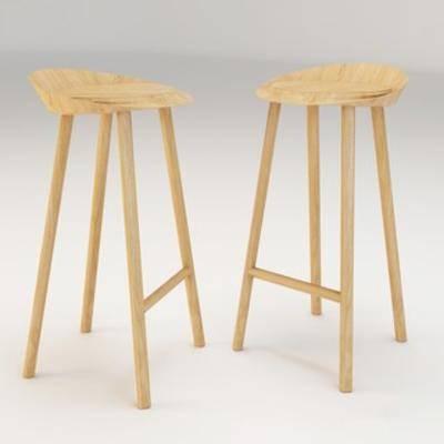 木艺吧椅, 现代木艺吧椅, 现代吧椅, 吧椅, 现代椅子, 现代简约