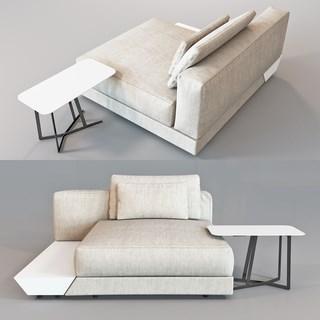 北欧简约休闲沙发组合
