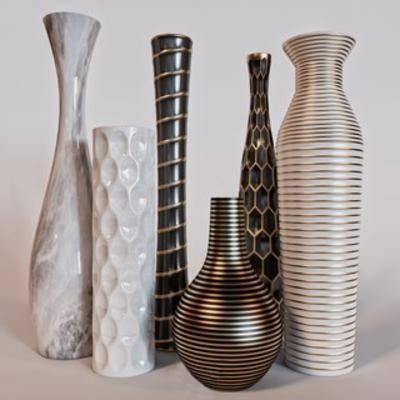 装饰品组合, 花瓶装饰品, 装饰品, 下得乐3888套模型合辑