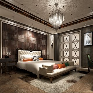 欧式简约风格卧室