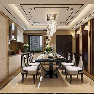 沈勇杰-新中式风格客厅