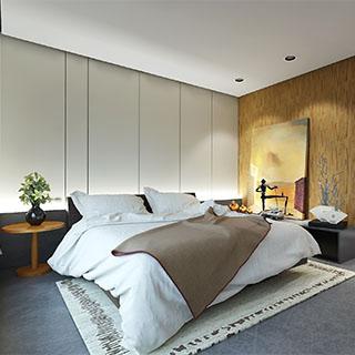 宋传金-现代风格卧室