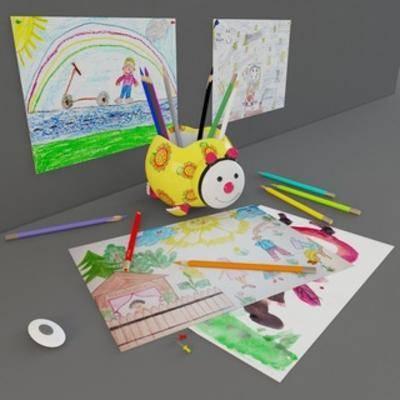 画笔, 绘画工具儿童用品