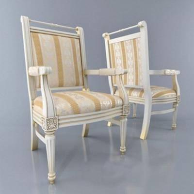 单人椅, 乡村, 现代椅子, 简约, 美式风格