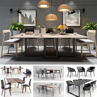餐桌椅组合,餐桌,餐椅,餐桌椅子