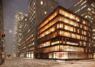 建筑室外空间,大厦,写字楼
