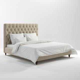 典雅,美式简约风格双人床