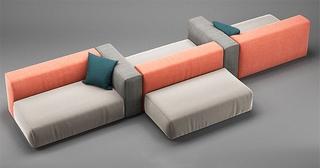 布艺,舒适,现代简约多人沙发