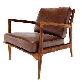 商务,舒适,现代皮艺单人沙发