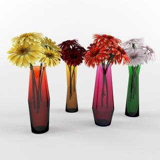 时尚,现代风格花瓶,色彩缤纷